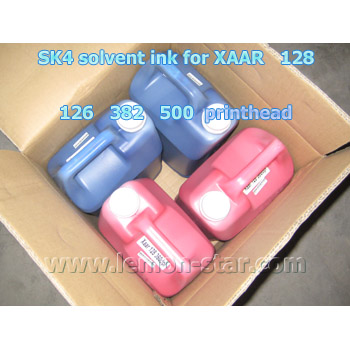 Solvent ink for XAAR printhead Solvent ink for XAAR
