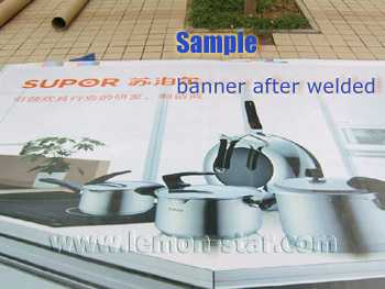 Banner welding sample details
