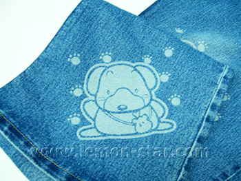 cut cloth sample